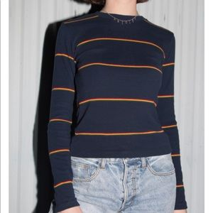 New Brandy Melville Santana stripped top